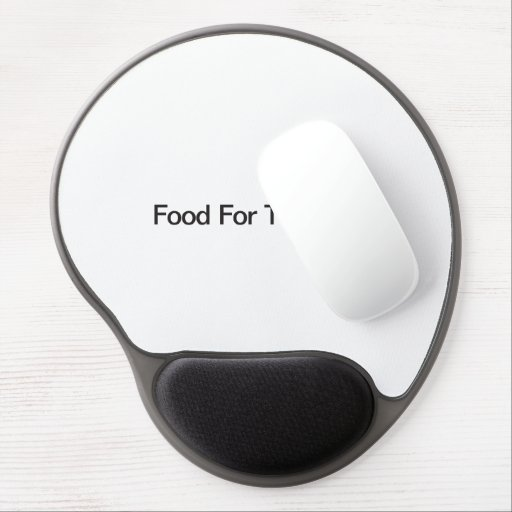 Food For Thought Gel Mouse Pad
