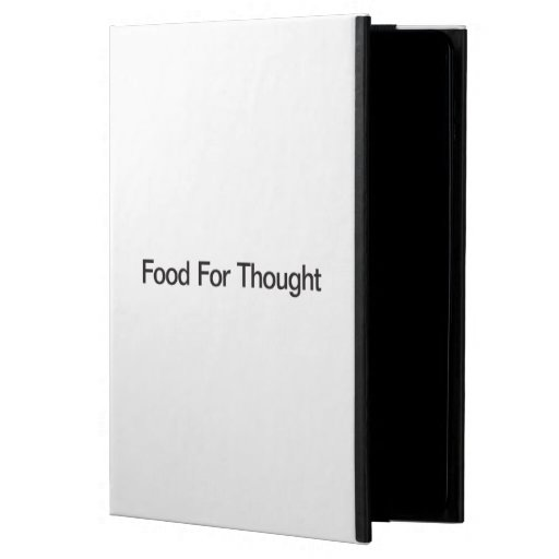 Food For Thought Cover For iPad Air
