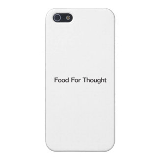 Food For Thought iPhone 5/5S Cover