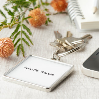 Food For Thought Key Chains