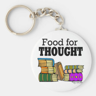 Food for Thought Keychains