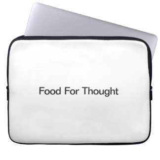 Food For Thought Computer Sleeves