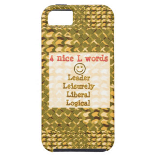 FOOD for THOUGHT: Leader, Logical,Liberal LOWPRICE iPhone 5/5S Cover