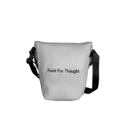 Food For Thought Messenger Bags