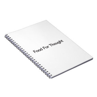 Food For Thought Notebook