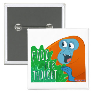 Food For Thought Pin