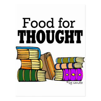 Food for Thought Postcard