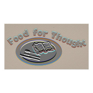 Food for Thought Poster