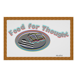 Food For Thought -Poster-1 Poster