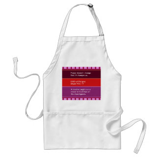 Food for thought : Practical Wisdom Words Adult Apron