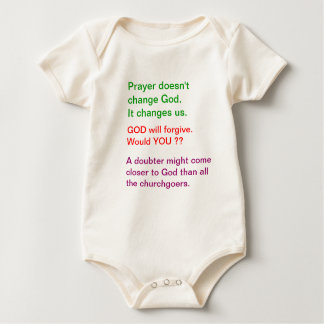 Food for thought : Practical Wisdom Words Baby Bodysuit