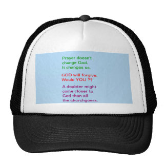 Food for thought : Practical Wisdom Words Trucker Hat