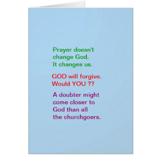Food for thought : Practical Wisdom Words Greeting Card