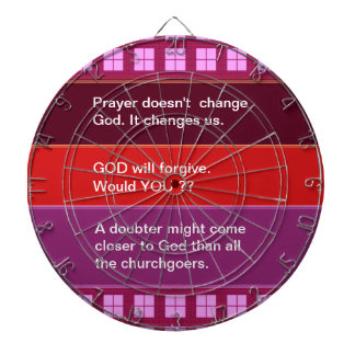 Food for thought : Practical Wisdom Words Dartboard With Darts
