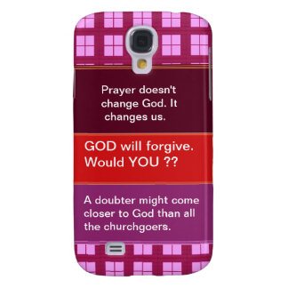 Food for thought : Practical Wisdom Words Galaxy S4 Case