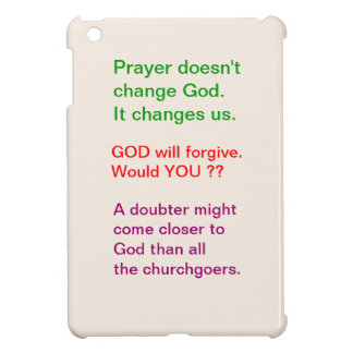 Food for thought : Practical Wisdom Words iPad Mini Case
