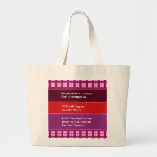Food for thought : Practical Wisdom Words Jumbo Tote Bag