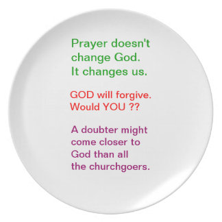 Food for thought : Practical Wisdom Words Party Plate