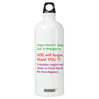 Food for thought : Practical Wisdom Words SIGG Traveller 1.0L Water Bottle
