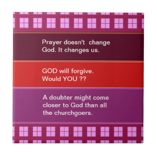 Food for thought : Practical Wisdom Words Small Square Tile