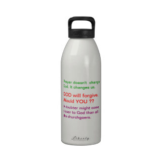 Food for thought : Practical Wisdom Words Reusable Water Bottle