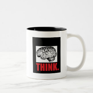 Food For Thought Two-Tone Mug