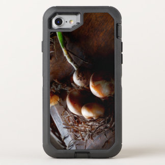 Food - Freshly pulled onions OtterBox Defender iPhone 8/7 Case
