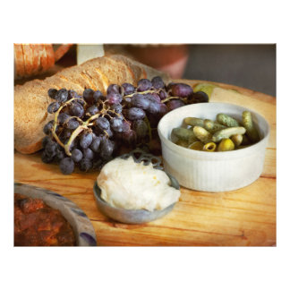Food - Fruit - Gherkins and Grapes Flyer