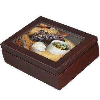 Food - Fruit - Gherkins and Grapes Keepsake Box