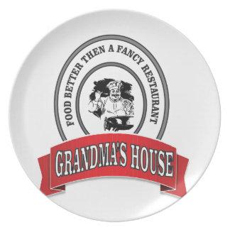 food grandmas house good plate