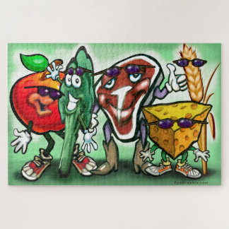 Food Groups Jigsaw Puzzle