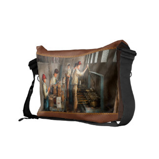 Food - Ice Cream - Sanitary ice cream cones 1917 Commuter Bag