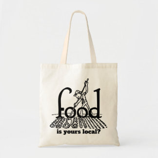 Food. Is Yours Local? Tote Bag