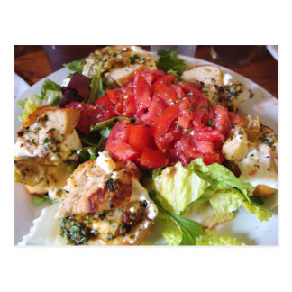 FOOD: Loaded Bruschetta Postcard
