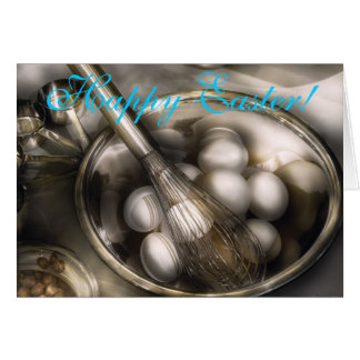Food - Mix in the eggs Greeting Card