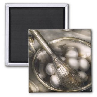 Food - Mix in the eggs Square Magnet