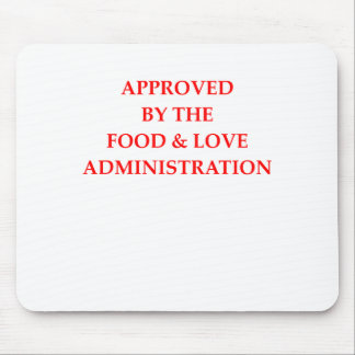 FOOD MOUSE PAD