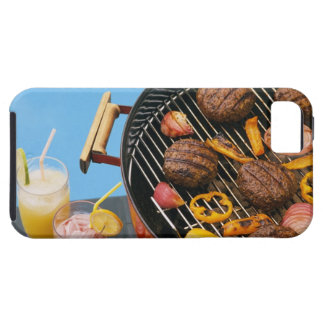 Food on grill iPhone 5 cover