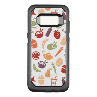 Food Pattern 2 OtterBox Commuter Samsung Galaxy S8 Case