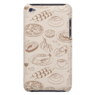 Food Pattern 3 Barely There iPod Covers