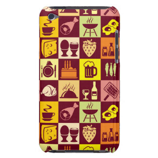 Food Pattern iPod Touch Cover