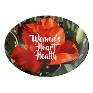 Food Platters Women's Heart Health Serving Trays