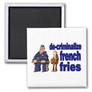 Food Police fridge magnet