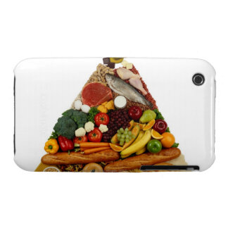 Food Pyramid Case-Mate iPhone 3 Cases