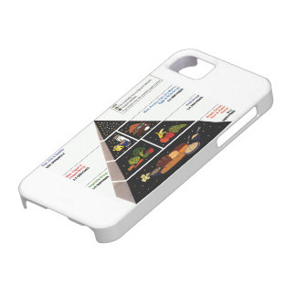 Food Pyramid iPhone 5 Covers