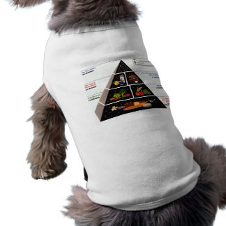 Food Pyramid Pet Tshirt