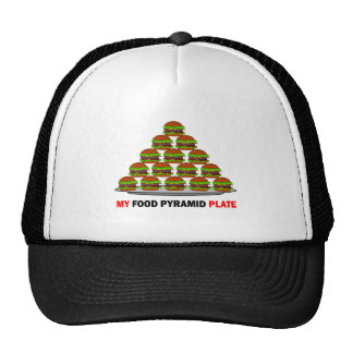 food pyramid trucker hat