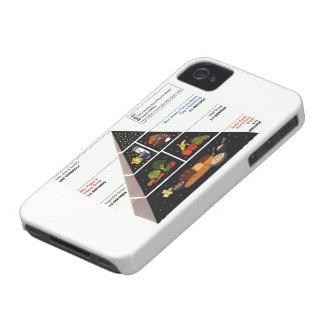 Food Pyramid iPhone 4 Case-Mate Case