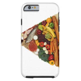Food Pyramid Tough iPhone 6 Case