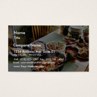 Food Salmon Business Card